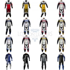 Custom Made YAMAHA Leather Motorcycle Suit Set 1